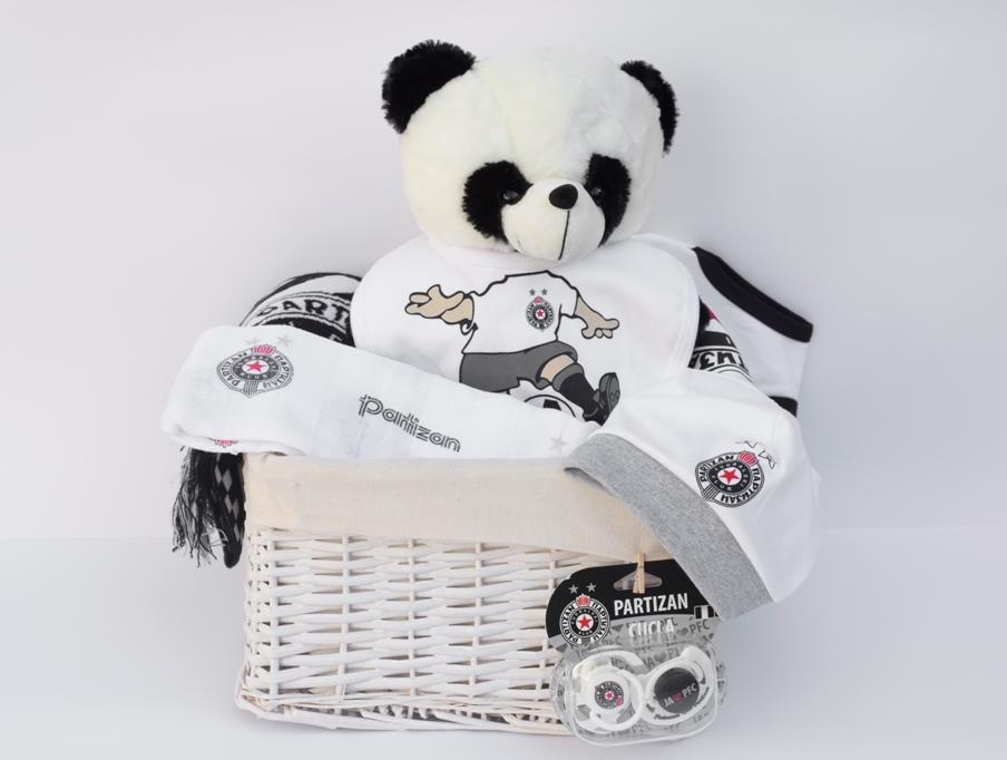 Poklon korpa za Bebe  - Partizan
