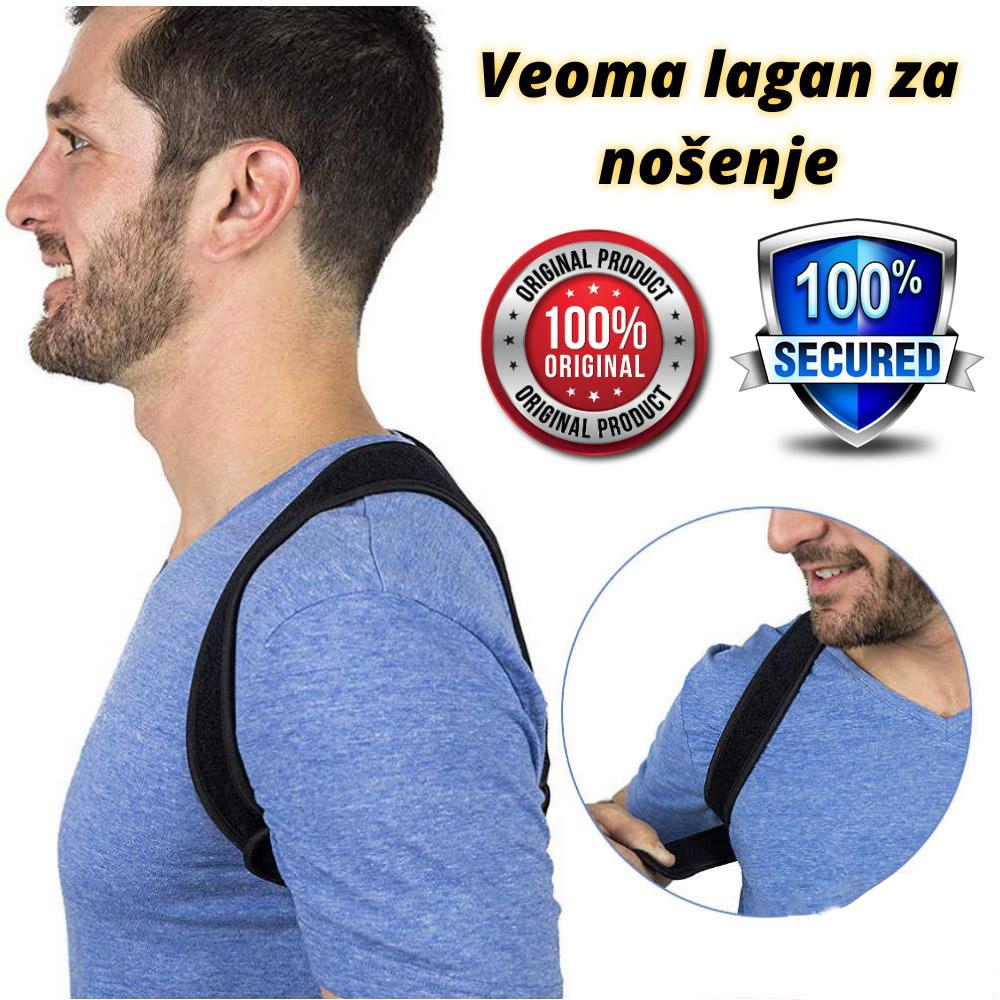 Ultra lagan pojas koji ispravlja držanje tela