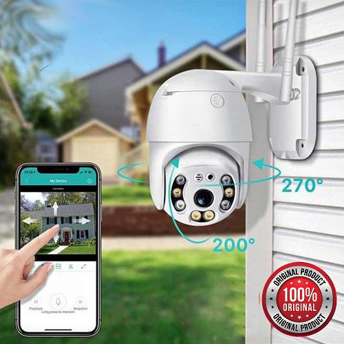 Wifi smart kamera Rotirajuća za video nadzor