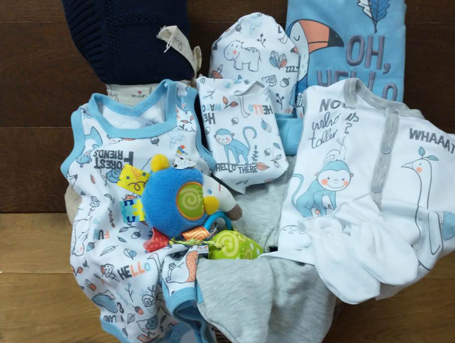 Poklon korpa za Bebe - Super Heroj